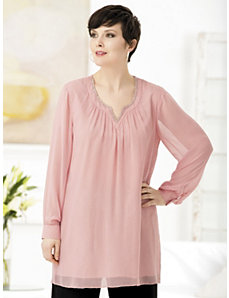 Peach Princess Tunic by Ulla Popken