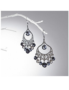 Twilight Chandelier Earrings by Ulla Popken