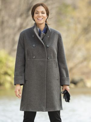 Double-breasted Empire Coat