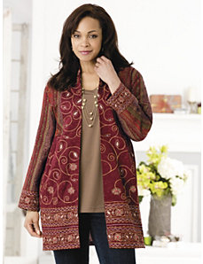 Athena Tapestry Jacket by Ulla Popken