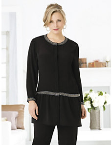 Adorna Skirted Tunic by Ulla Popken