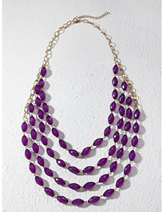 Infinite Facets Necklace by Ulla Popken