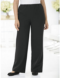 Boulevard Wide-leg Pants by Ulla Popken