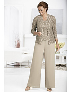 Diana 3-piece Pant Set by Ulla Popken