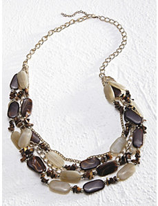 Earth Tones Necklace by Ulla Popken
