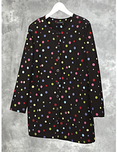 Embroidered Dot Jacket by Ulla Popken