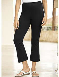 Cropped Yoga Pants by Ulla Popken
