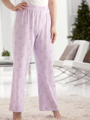 Comfy Knit Print Pajama Pants