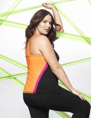 Colorblock performance active tank
