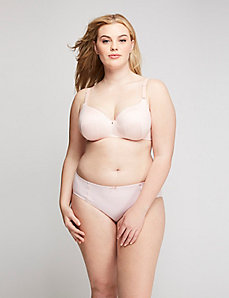 Invisible backsmoother balconette bra