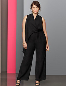 Lane Collection sexy jumpsuit by LANE BRYANT