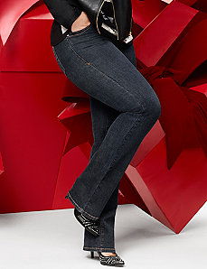 Genius Fit™ slim boot jean by Lane Bryant