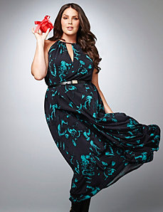 Lane Collection floral maxi dress by LANE BRYANT