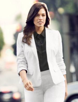 Tailored Stretch pinstripe jacket