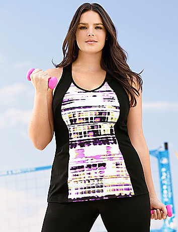 Printed back interest active tank