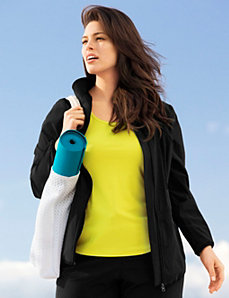 Woven anorak active jacket