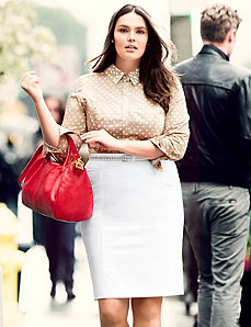 Perfect Shirt & Pencil Skirt Outfit