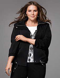 Soft jacket by LANE BRYANT