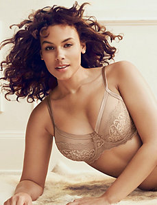 Illusion French full coverage bra by LANE BRYANT