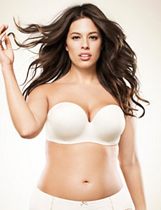 Multi-way strapless bra by Cacique