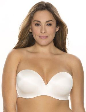 Multi-way strapless bra