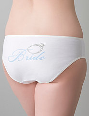 Plus Size Bridal Knickers