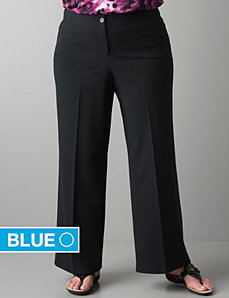 Wide leg trouser with Right Fit Technology