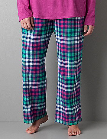 Sparkle plaid sleep pant by Cacique