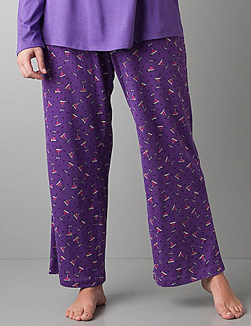 Drinks & dots sleep pant by Cacique