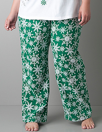 Snowflake woven sleep pant by Cacique