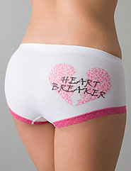 Heart Breaker boyshort panty