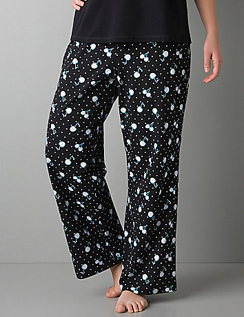 Cherry knit sleep pant by Cacique