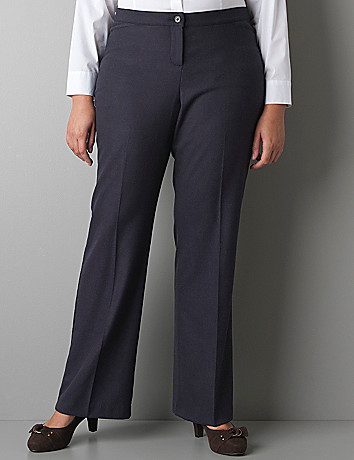 Herringbone trouser with Tighter Tummy Technology