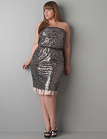 Sequin party dress by DKNY JEANS