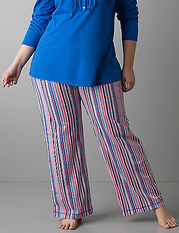 Striped sleep pant by Cacique