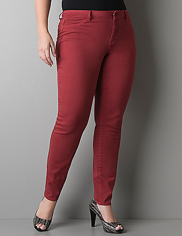 Crimson jegging by DKNY JEANS