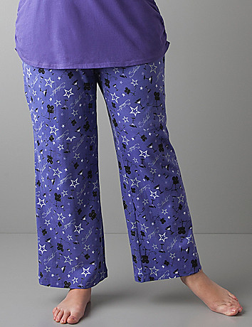 Plus sized Starlet sleep pant by Cacique