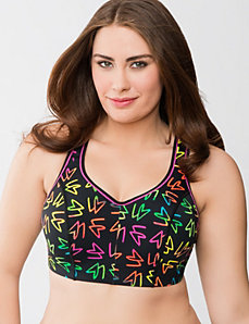 Sport by Cacique molded underwire sport bra