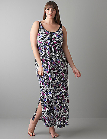 Floral maxi dress by Cacique