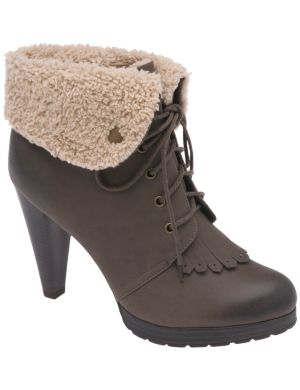 Fleece cuff bootie