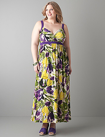 Tulip maxi dress by Lane Bryant
