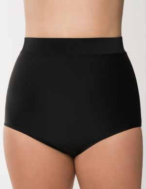 Ultra high waist swim brief