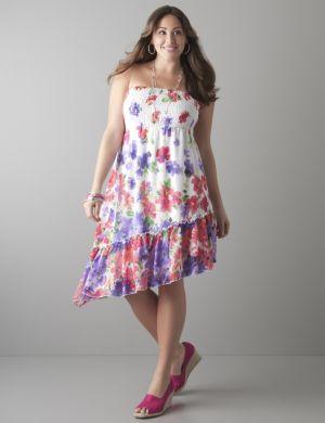 Asymmetric convertible dress