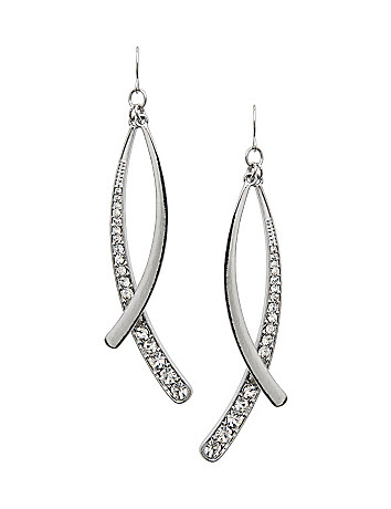Sticks & stones earrings by Lane Bryant