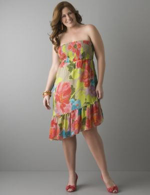 Floral smocked convertible dress