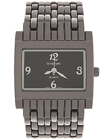 Contemporary square watch by Lane Bryant