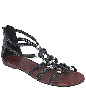 Knotted sandal by Lane Bryant