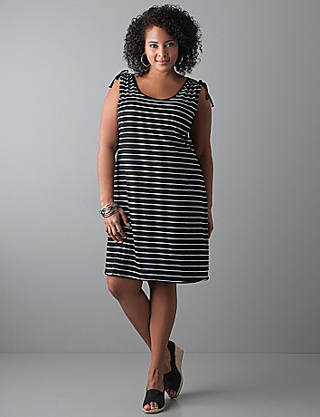 Striped tank dress by Seven7