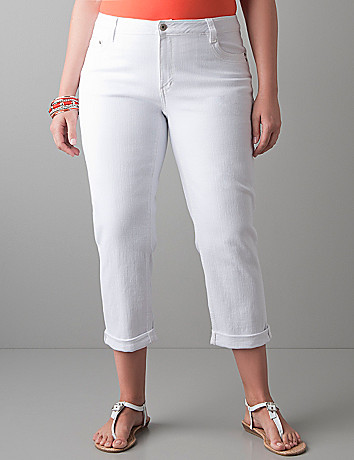 Soho straight leg crop by DKNY JEANS