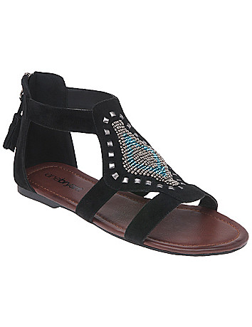 Aztec gladiator sandal by Lane Bryant